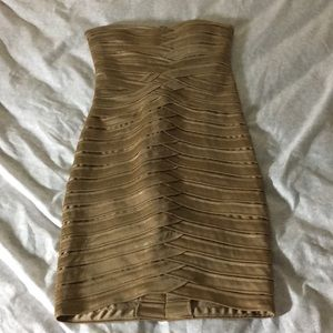 BCBG MaxAzria Bandage Dress.